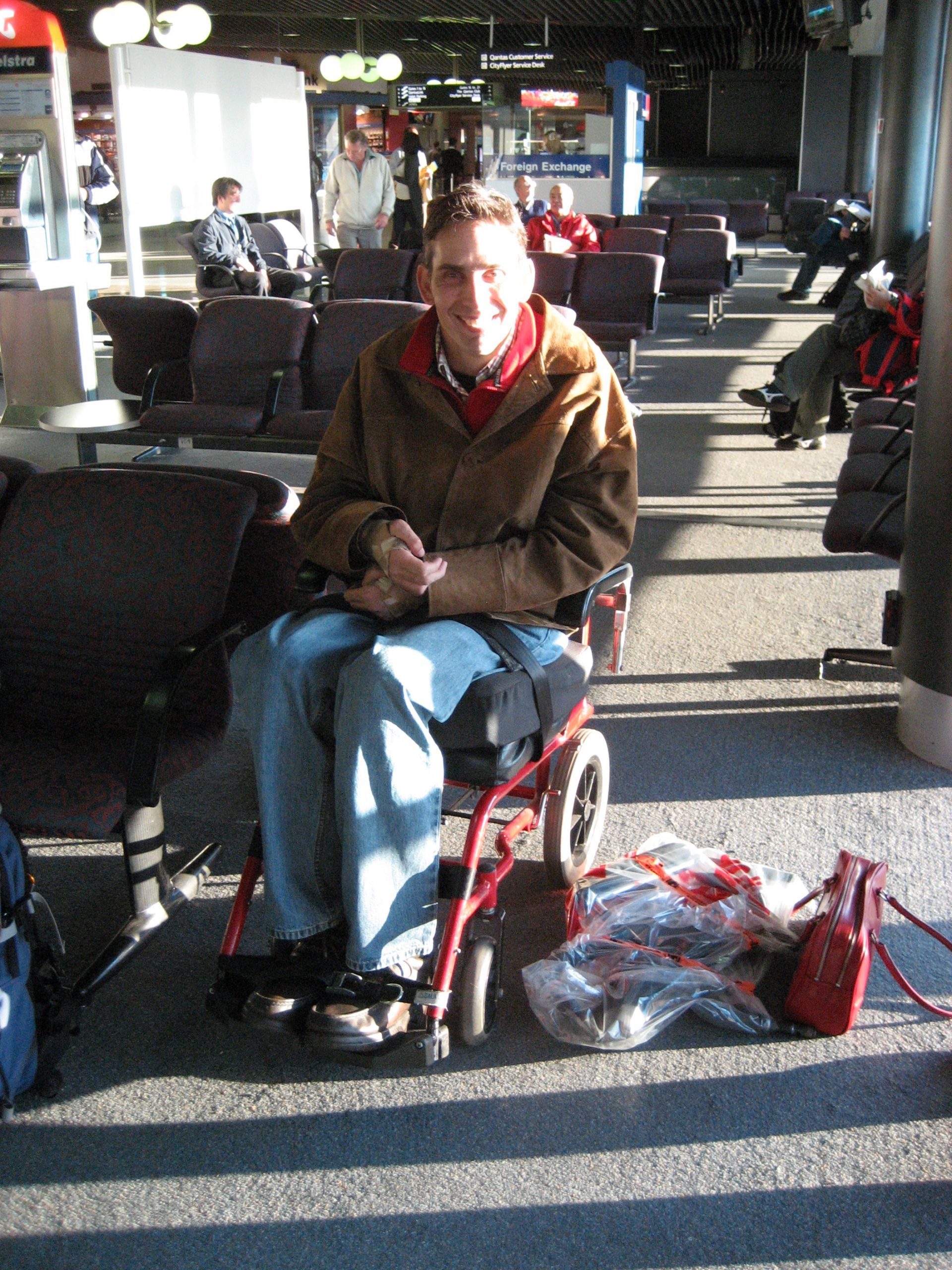 An Intro Into Flying With A Disability